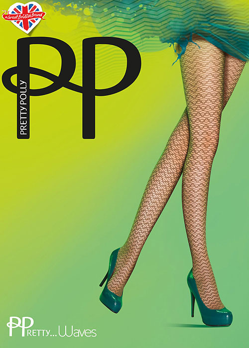 Pretty Polly Waves Fashion Tights
