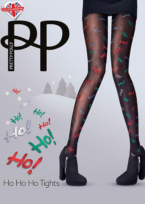 Pretty Polly Ho Ho Ho Tights