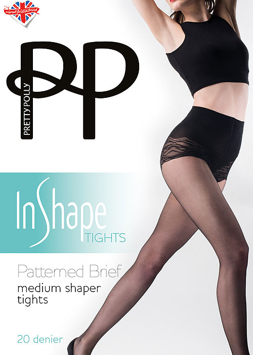 Pretty Polly Extra Large Size Medium Support 15 Denier Tights with Lycra