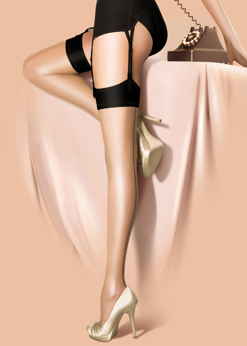 Pretty Polly Limited Edition Centenary Vintage Stockings Zoom 3