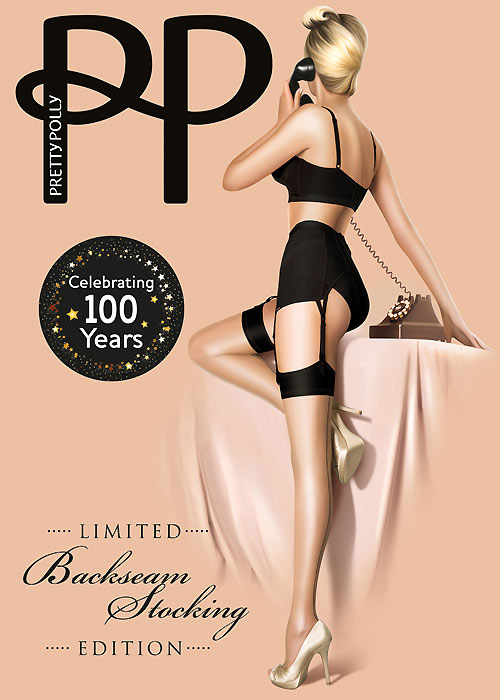 Pretty Polly Limited Edition Centenary Vintage Stockings