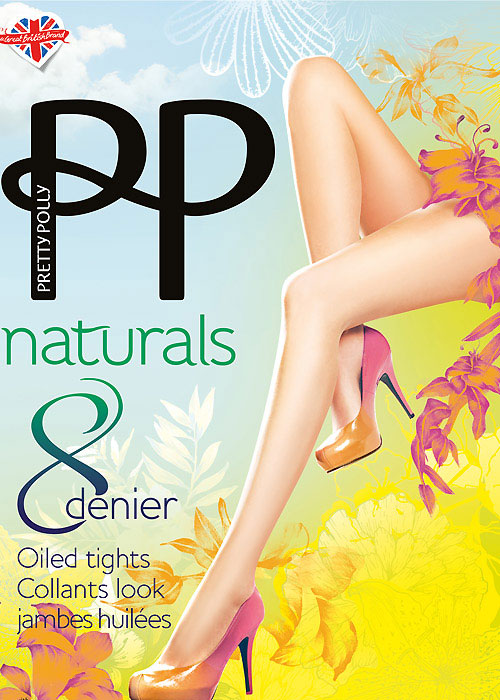 Pretty Polly Naturals Just Oiled Tights