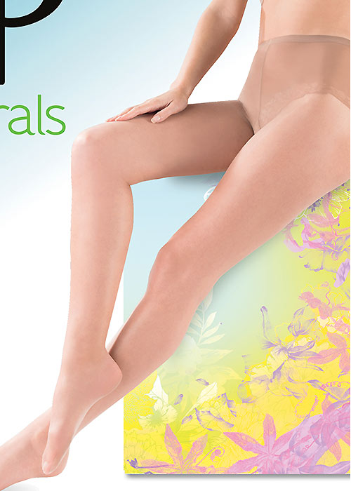 Pretty Polly Naturals Just Oiled Tights Zoom 2