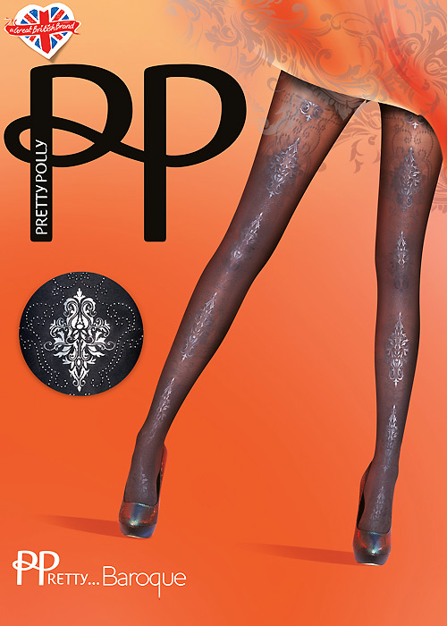 Pretty Polly Pretty Baroque Tights
