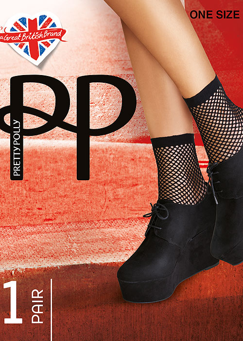 Pretty Polly Ropenet Anklet