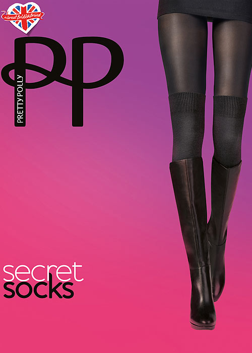 Pretty Polly Secret Socks Tights