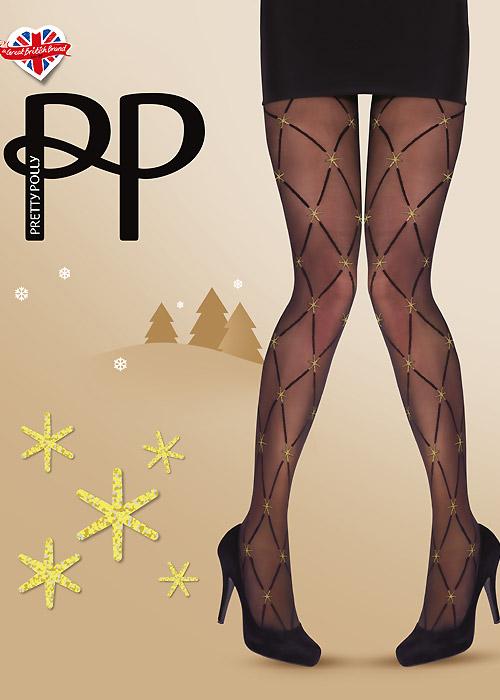Pretty Polly Stars Diamond Tights