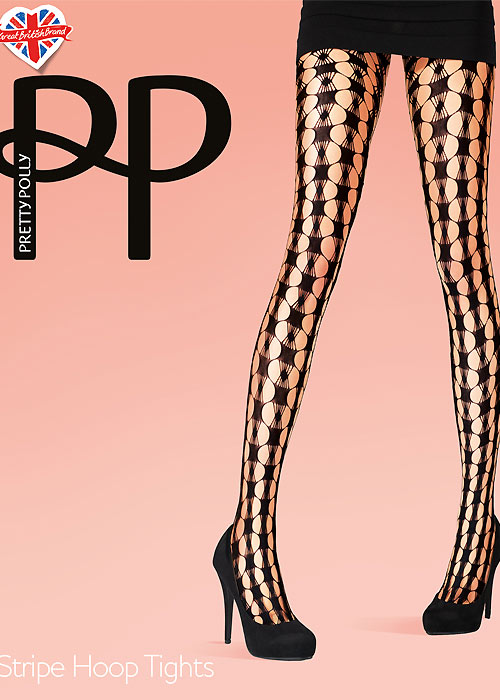 Pretty Polly Stripe Hoop Tights