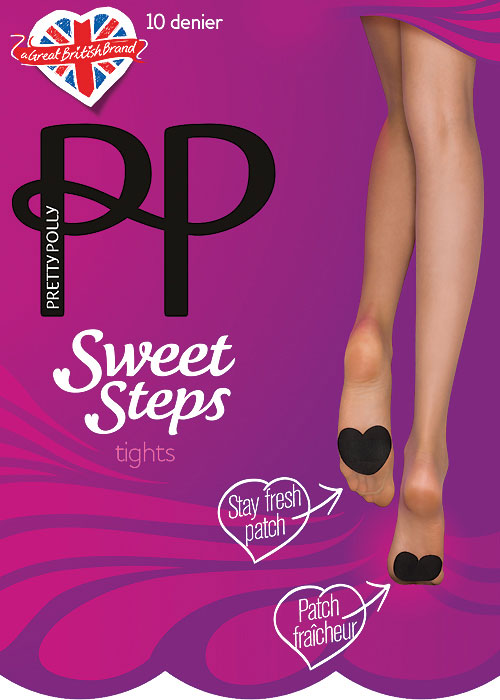 Pretty Polly Sweet Step 10 Denier Tights