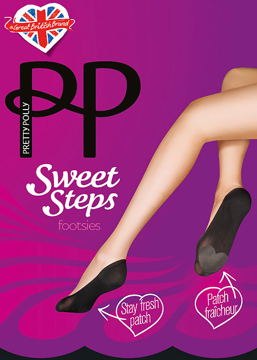 Pretty Polly Sweet Steps Odour Control Footsies