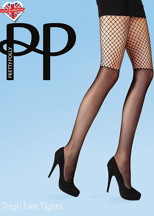 Pretty Polly Thigh Net Tights