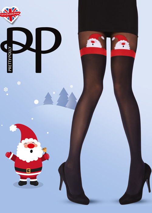 Pretty Polly Xmas Santa Tights