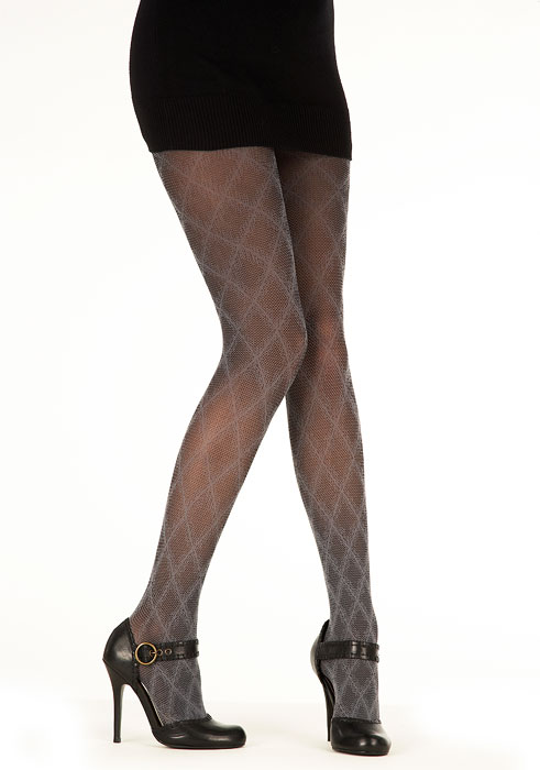 680814a2e Pretty Polly Shaded Diamond Tights In Stock At UK Tights