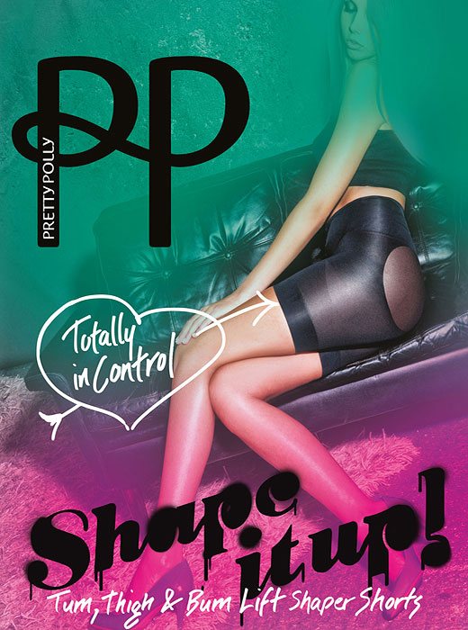 Pretty Polly Shape It Up Totally In Control Shaper Shorts