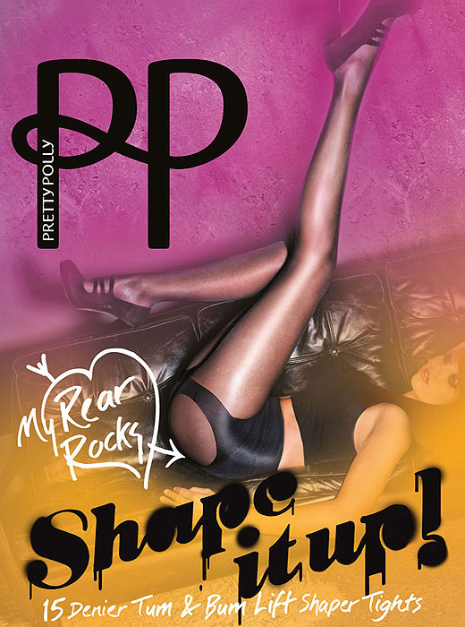 Pretty Polly Shape It Up Tum And Bum Shaper Tights