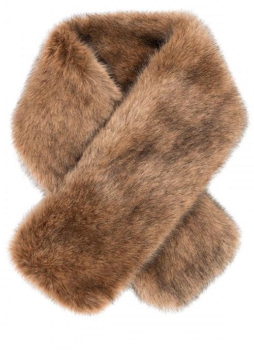 Pia Rossini Monroe Fur Collar