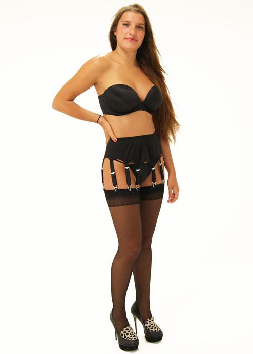 Sassy 10 Strap Suspender Belt
