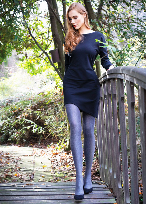 Sarah Borghi Green Cotton 100 Tights