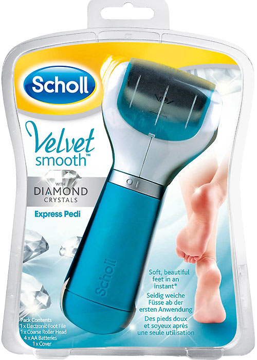 Scholl Velvet Smooth Express Pedi With Diamond Crystals