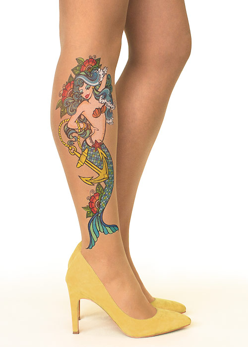 Stop And Stare Mermaid Spell Tights