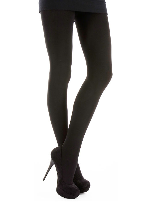 Silky Textures Thermal Acrylic Tights