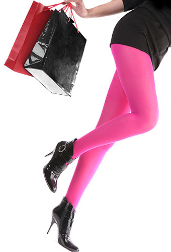 Silky Coloured Opaque 70 Denier Tights