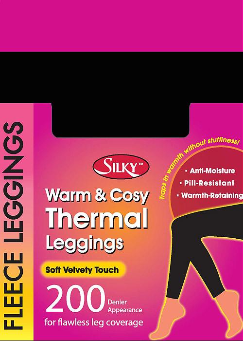 Silky 200 Denier Fleece Leggings