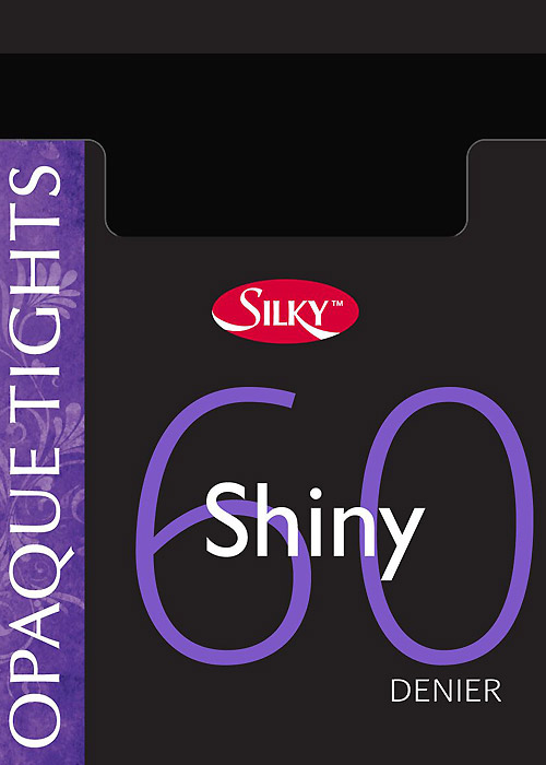Silky 60 Denier Shiny Opaque Tights