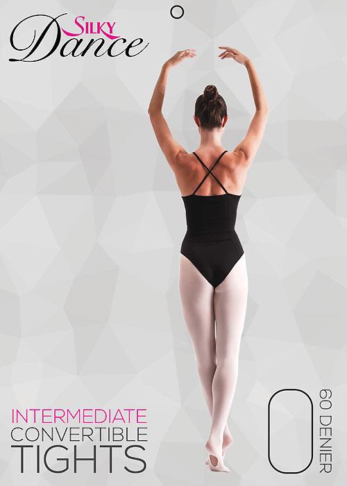 Silky Ballet Adult Convertible Ballet Tights