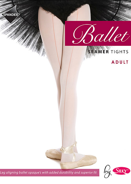 Silky Ballet Adult Seamed Ballet Tights