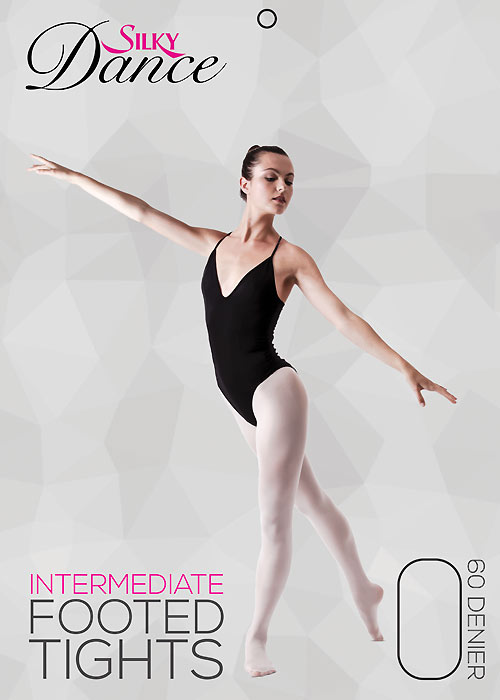 Silky Ballet Adults Full Foot Ballet Tights