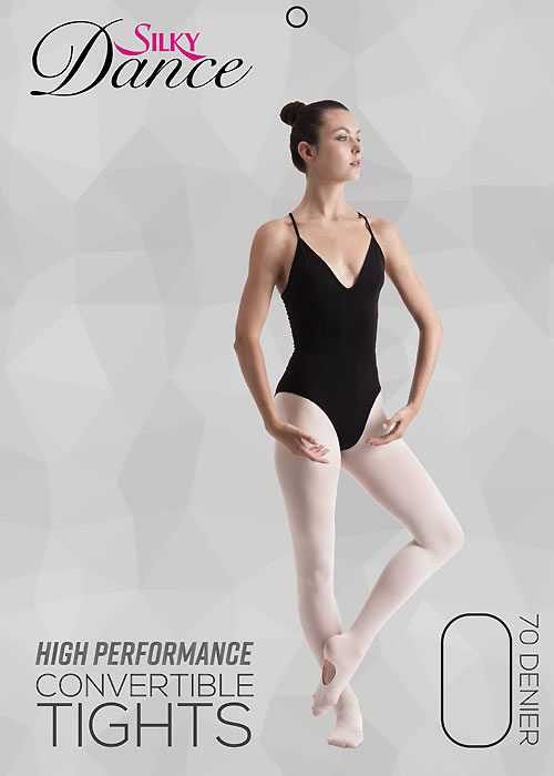 Silky Ballet Adults High Performance Convertible Tights