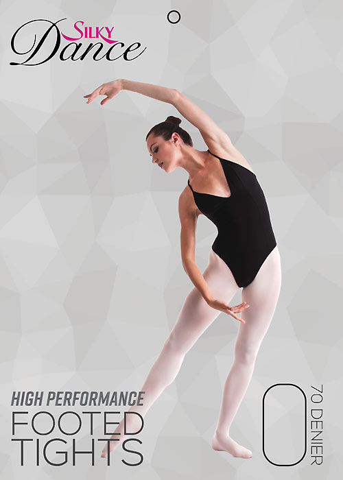 Silky Ballet Childrens High Performance Full Foot Tights