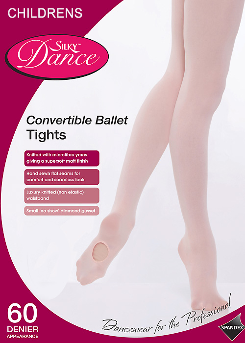 Silky Ballet Childrens Convertible Ballet Tights