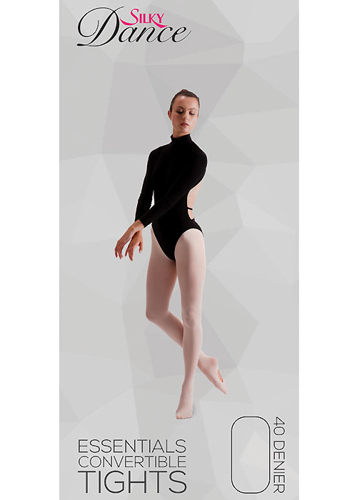 Silky Dance Essentials Childrens Convertible Ballet Tights