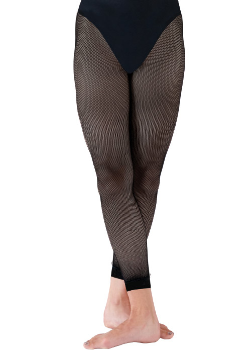 Silky Dance Childrens Fishnet Footless Tights