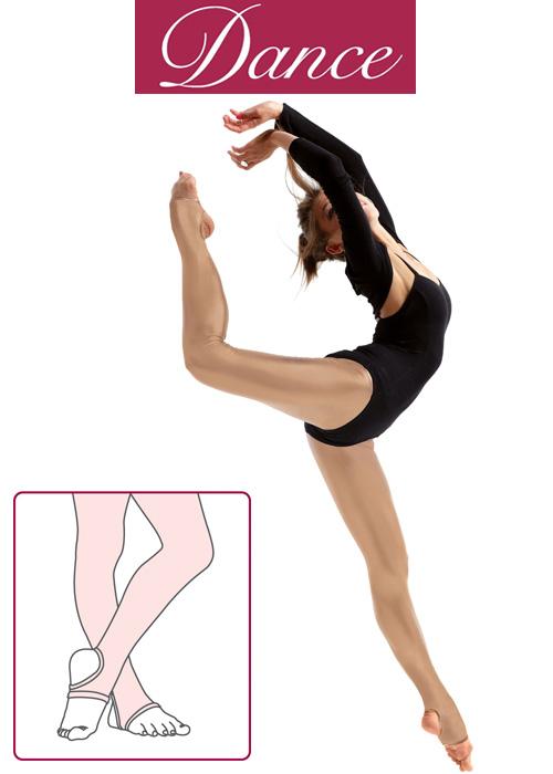 Silky Dance Adults Shimmer Stirrup Dance Tights