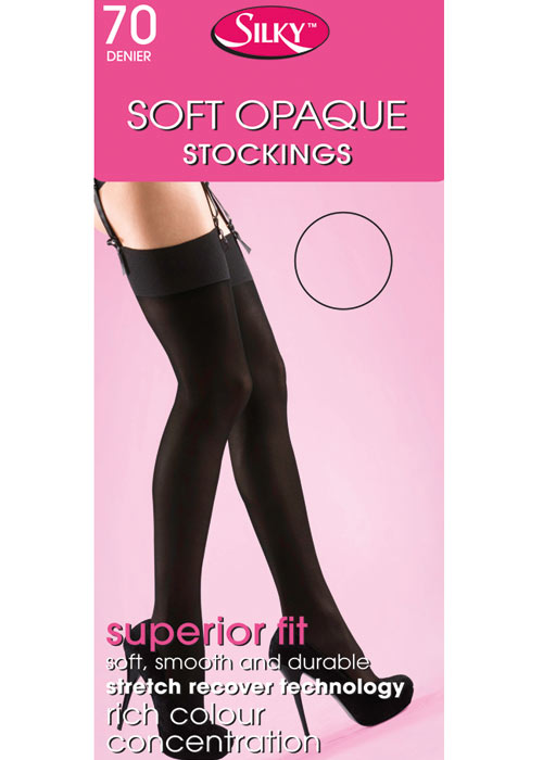 Silky Soft 70 Denier Opaque Stockings
