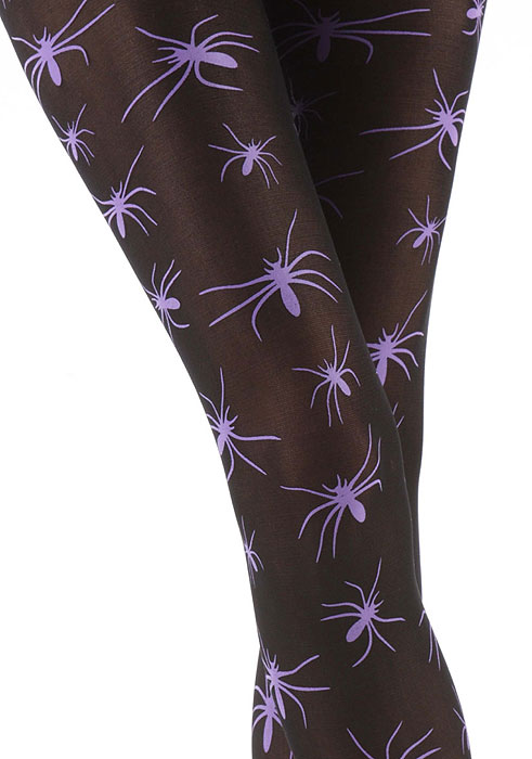 Spider Tights For Halloween