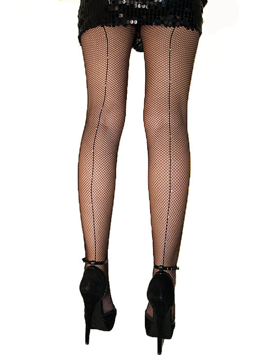 YEAH, her back seam tights target blonde with