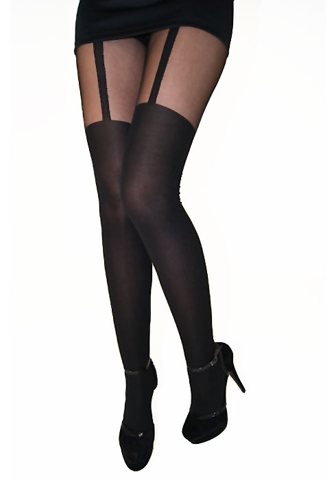 6f38d2464d4ff Tiffany Quinn Single Strap Suspender Tights In Stock At UK Tights
