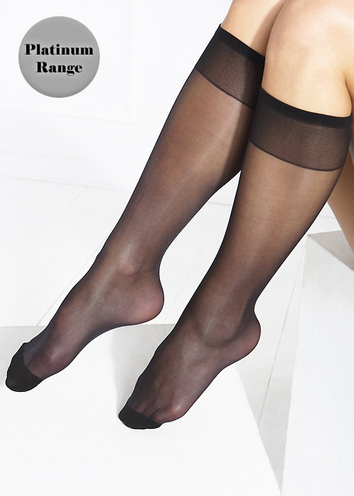 Tiffany Quinn Platinum Range Cushion Sole Knee Highs