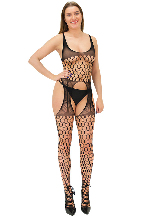 Tiffany Quinn Vivienne Crotchless Fishnet Bodystocking