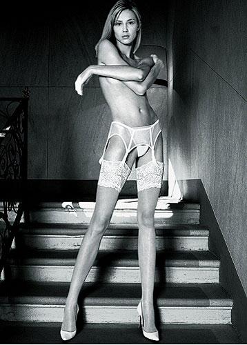 Trasparenze Eleonora 30 Denier Lace Top Stockings