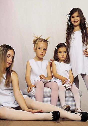 Trasparenze Jolie Childrens Cotton Tights