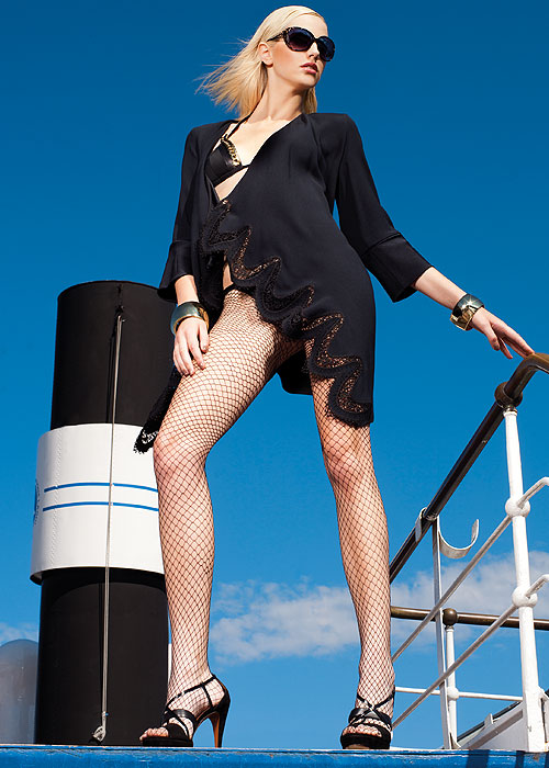 Trasparenze Rita Fishnet Fashion Tights