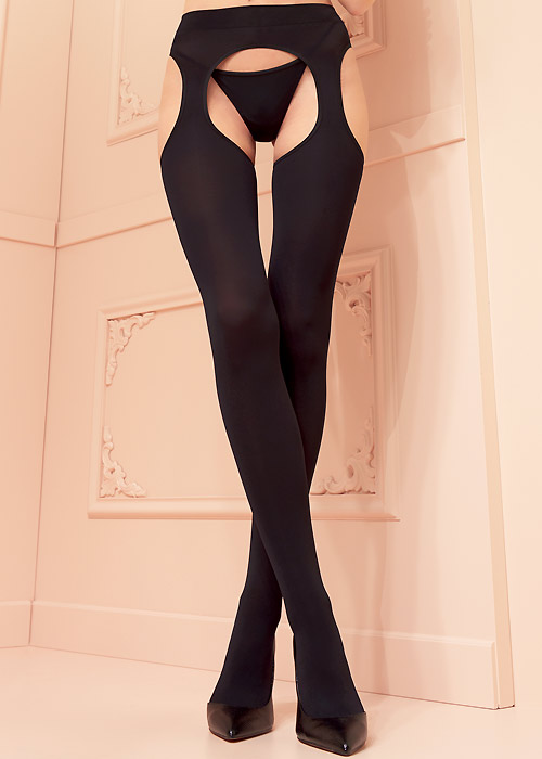 Trasparenze 100 Denier Cortina Suspender Tights