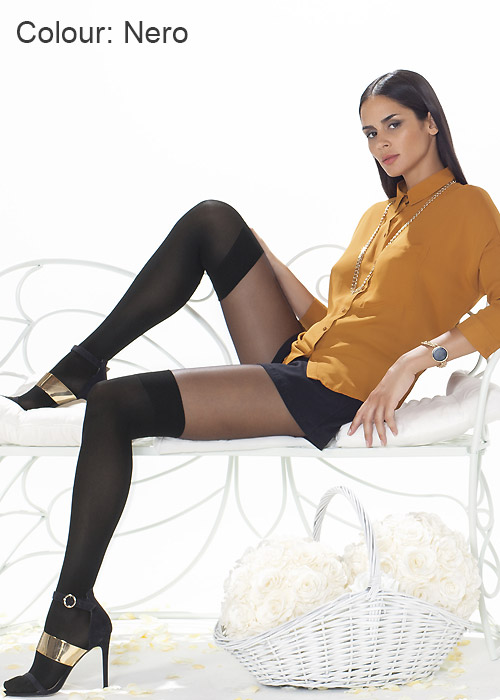 Trasparenze Alexander Mock Over The Knee Sock Tights