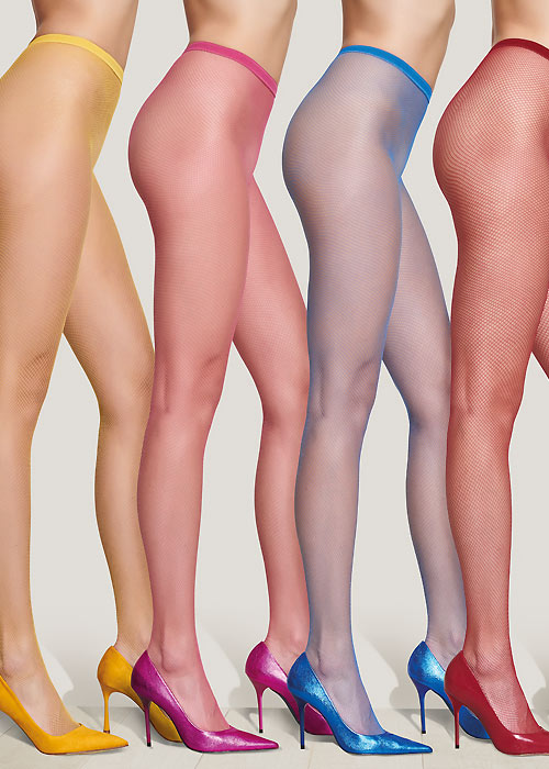 Trasparenze Ambra Coloured Fishnet Tights