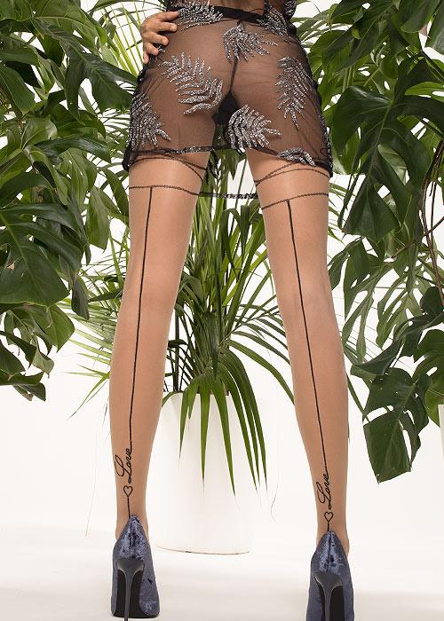 Trasparenze Avocado Fashion Tights